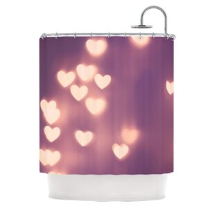 Your Love is Electrifying Shower Curtain East Urban Home