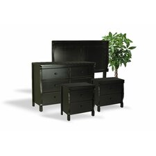 Bachelder Antique Wood 4 Piece Dresser and Chest Set by Darby Home Co