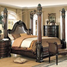 Alchemist Canopy Bed by Astoria Grand