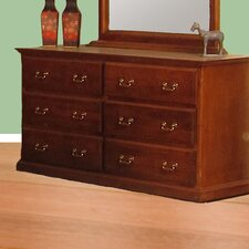 6 Drawer Standard Dresser by Forest Designs