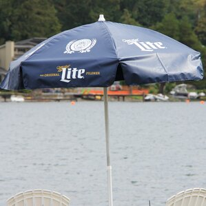 Miller Lite 6u0027 Patio Umbrella