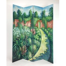 Tinley Hand Painted Double Side Screen by Red Barrel Studio