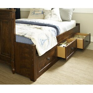 big sur by wendy bellissimo 3 drawer underbed storage - Under Bed Storage Frame