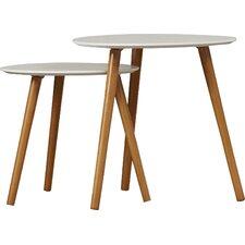 Phoebe 2 Piece Nesting Table