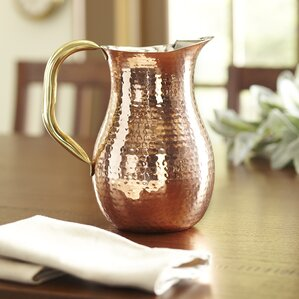 Leona Copper Pitcher