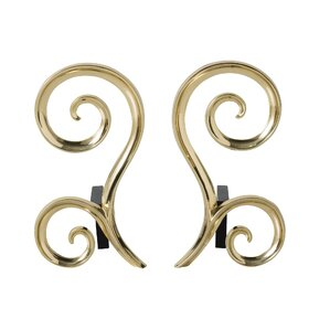 Libby Andiron by Arteriors (Set of 2)