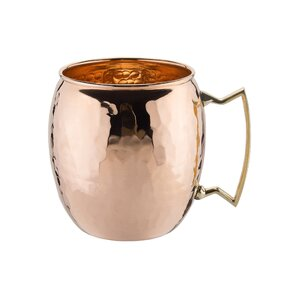 Hammered Copper Moscow Mule Mug by Old Dutch (Set of 4)