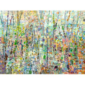 Abstract Forest Canvas Print