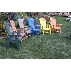 Upright Adirondack Chair