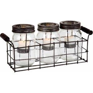 Cheryl Mason Jar Candleholder