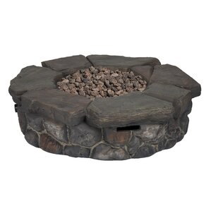 Finster Stainless Steel Propane Fire Pit