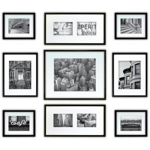 9-Piece Matted Picture Frame Set