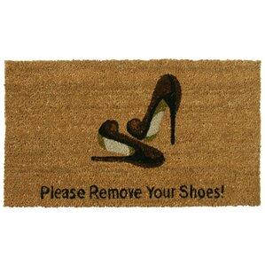 Remove Your Shoes Doormat