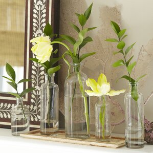 6-Piece Carrie Vase Set & Tray Set
