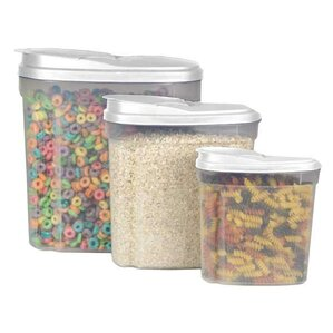3-Piece Dry Food Container Set