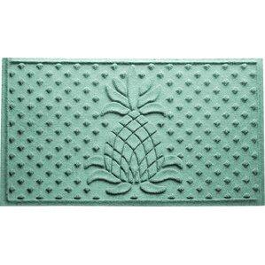 Aubrielle Diamond Pineapple Doormat