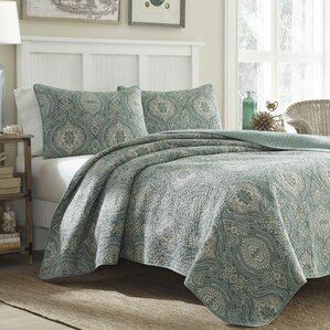 Turtle Cove Turtle Cove Reversible Quilt Set