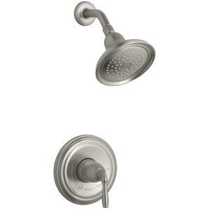 Devonshire Rite Temp Pressure-Balancing Shower Faucet Trim with Lever Handle, Valve Not Included