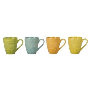 Trina Porcelain Mug (Set of 4)