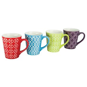 Mina Porcelain Mug (Set of 4)