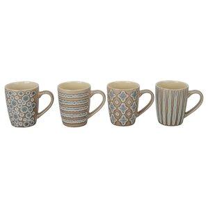 Aruba Porcelain Mug (Set of 4)