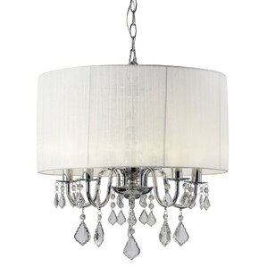 Vivian 5-Light Drum Chandelier