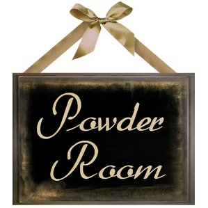Powder Room Wall Art
