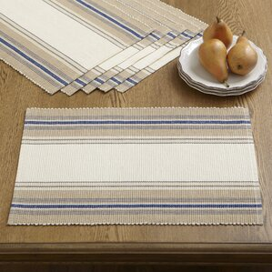 Evelyn Striped Placemats (Set of 6)