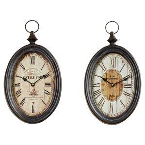 Albert Wall Clock (Set of 2)