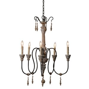 Lawrenceville 5-Light Candle-Style Chandelier