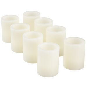 Vanilla Flameless LED Candle (Set of 8)