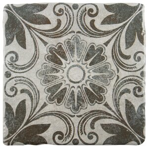 "Dacia 7.75"" x 7.75"" Ceramic Field Tile in Cendra"