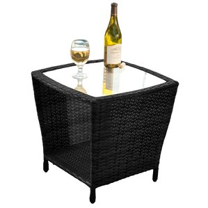 Leslie Patio End Table