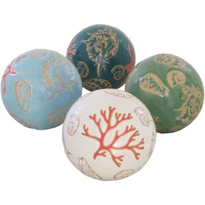 Coastal Orb Decor (Set of 4)