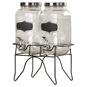 3-Piece Hargrove Beverage Dispenser Set