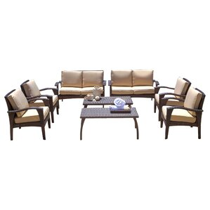 8-Piece Zoey Patio Seating Group