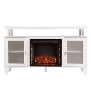 Bernice Media Console with Electric Fireplace
