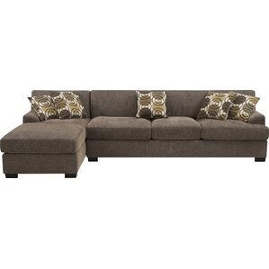 """Sarina 116"""" Reversible Chaise Sectional"""