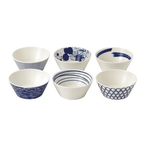 Pacific 6.8 oz. Tapas Bowls (Set of 6)