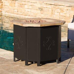 Brady Metal Propane Fire Pit Table