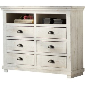 Arien 6 Drawer Media Chest
