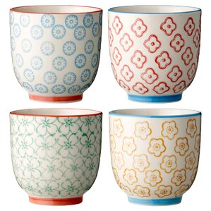 Vivianne Ceramic Cup Set (Set of 4)