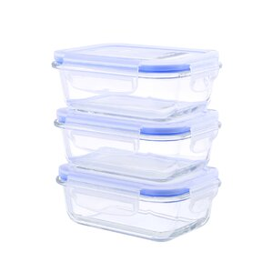 6-Piece 22 Oz. Food Storage Container  (Set of 3)