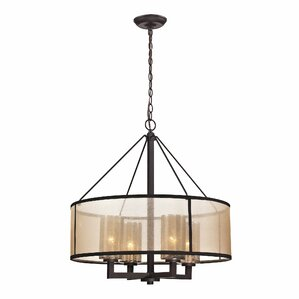Preston 4-Light Drum Chandelier