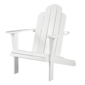 Lacey Adirondack Chair in White