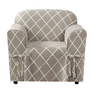 Lattice Armchair Slipcover  by Sure Fit