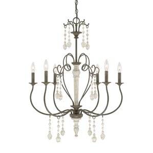 Johanson 6-Light Candle Chandelier