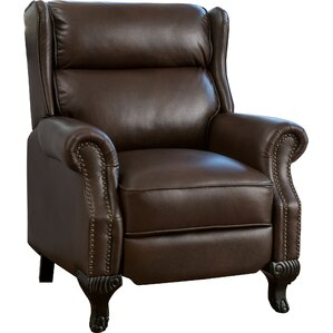 Collins Faux Leather Recliner