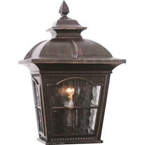 Dustin 2-Light Outdoor Flush Mount