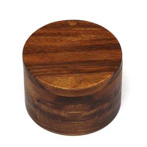 Luther Acacia Salt Box